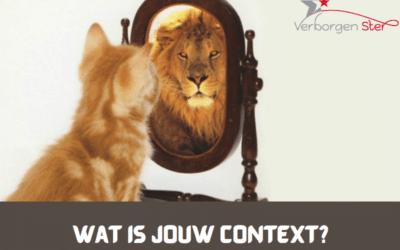 Wat is jouw context?
